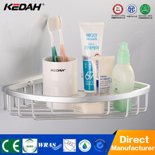 KD-L5107 triangle shaped basket new corner shelves basket for bathroom accessories