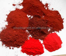 factory iron oxide red (free sample) for tiles/cement