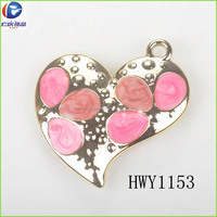 2017 Fashion style heart plastic bag buckles