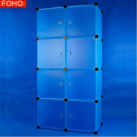 Modern appearance 8 cubes colorful bookcase living room bookshelves bookcase design FH-AL0030-8