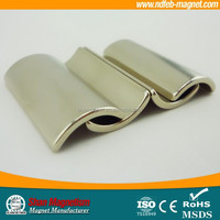 top quality strong neodymium arc magnets