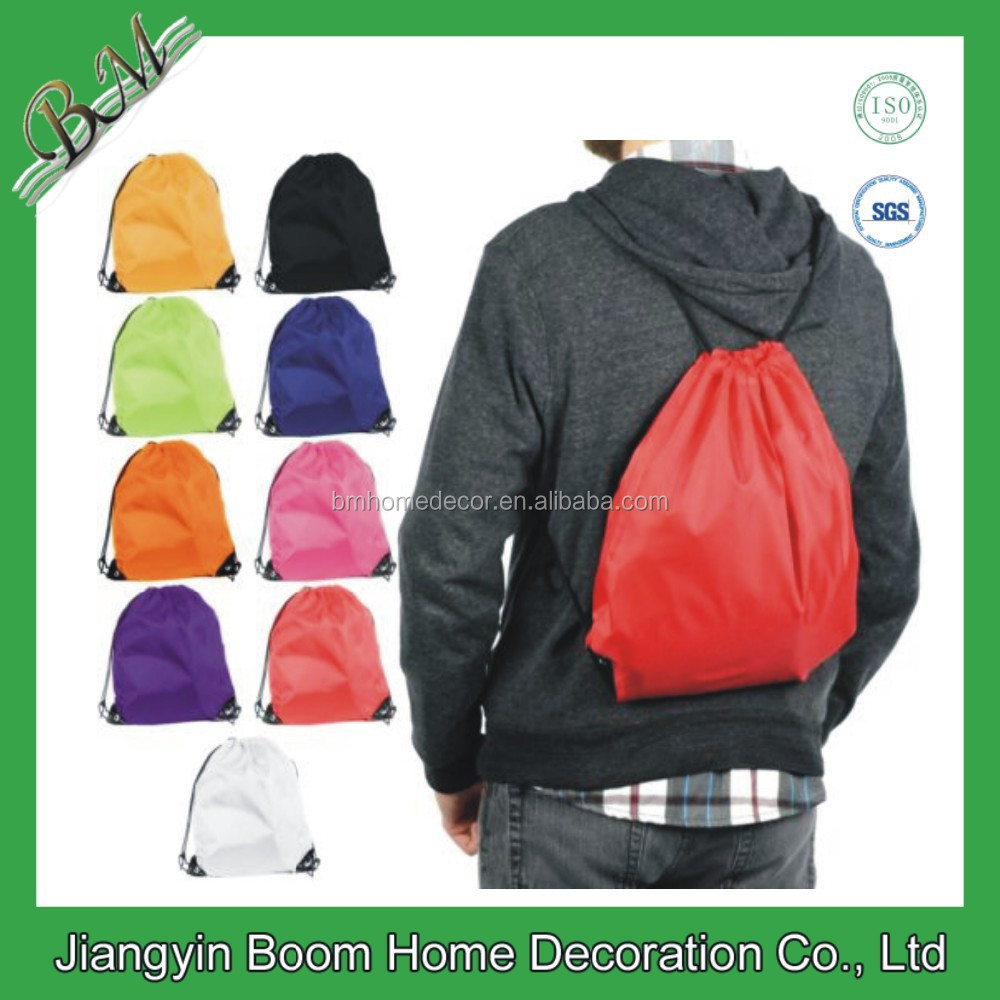 Nylon Drawstring Gym Sack for Promotion Events