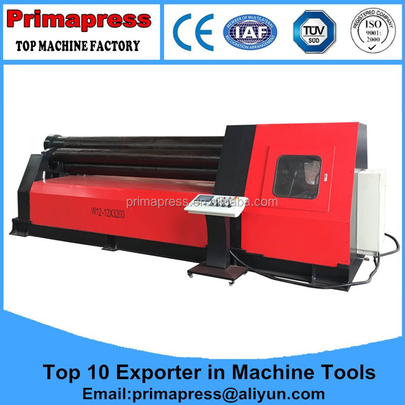 Made in China Aluminum profile rolling <strong>machine</strong> for arch window <strong>W11</strong>-12*2000