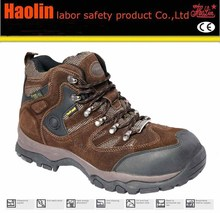 HL-A094 2014-2015 new custom leather working steel toe industrial safety shoes
