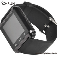 Waterproof Android Bluetooth Smart Watch Pedometer U8 Health Care Products touch screen calculator watch