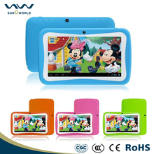 Wholesale high quality 7 inch Children Kids Tablet PC Dual Core Android 5.1 Birthday Christmas Gift tablet