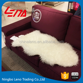 long hair pile acrylic polyester synthetic sheepskin rug long hair carpet polyster