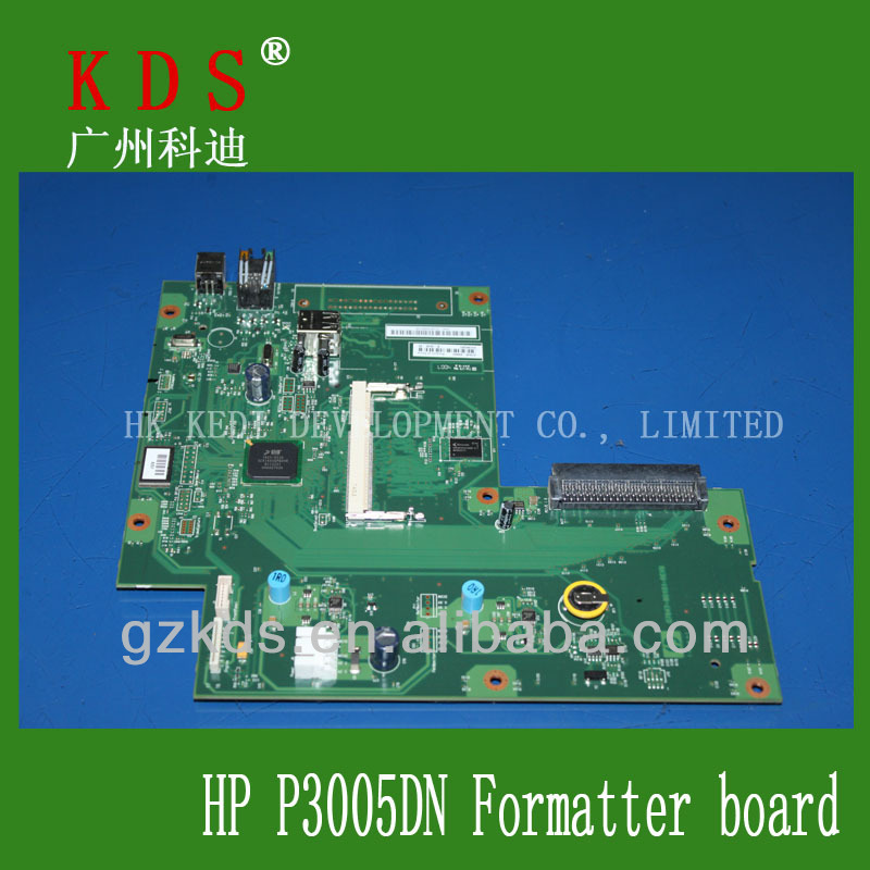 Q7848-61004 printer parts for HP P3005DN Formatter board laserjet printer