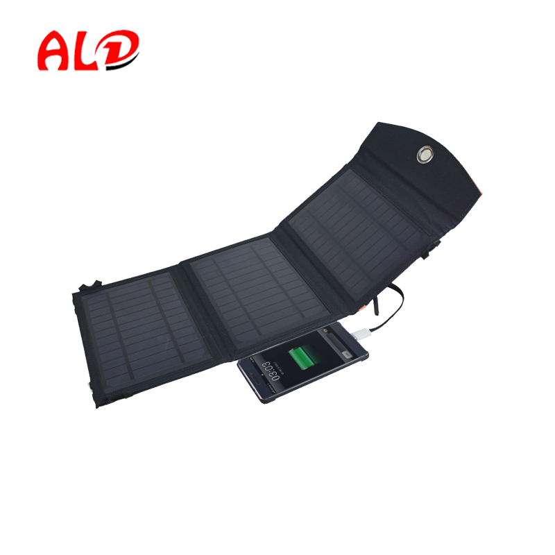 Beautiful design power bank solar charger 7W / 10W / 14WW sell well