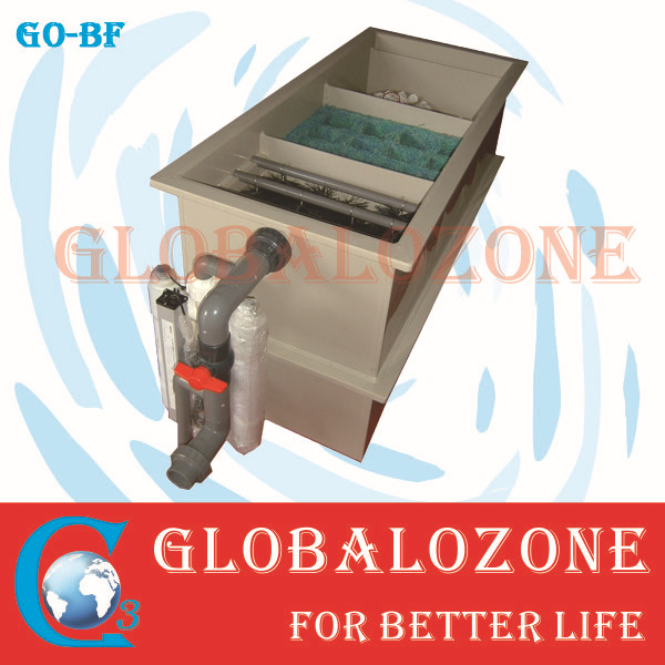 10T/Hr Biological water filter aquaculture for Fish Hatchery