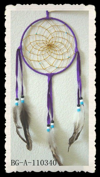 2015 chicken feathers craft dream catcher for sale