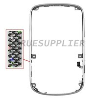 For Blackberry Bold 9900 9930 Black Diamond Bezel Faceplate Cover