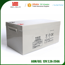 long designed service life agm gel lead acid deep cycle 12v 40ah 50ah 55ah 60ah 65ah 75ah battery price