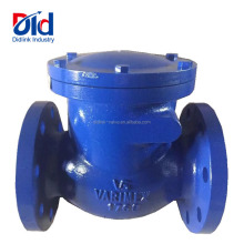 Cast Iron VS 1769 Swing Wafer Type Inline Flap Bolt Connected Flanged End Water Gas Fuel Check Valve Prices