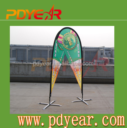 Top quality custom Flying Teardrop banner for <strong>advertising</strong>