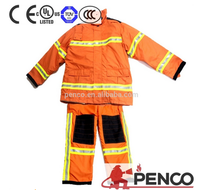 Fire fighters used fire suits /fire man protective coverall