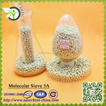 water absorbing pellets 5A desiccant synthetic for plastic