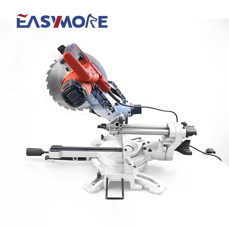 Ningbo 150W double industrial aluminum electric sliding miter <strong>saw</strong>