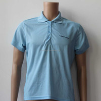 cheap custom 100% polyester embroidered polo shirt wholesale china
