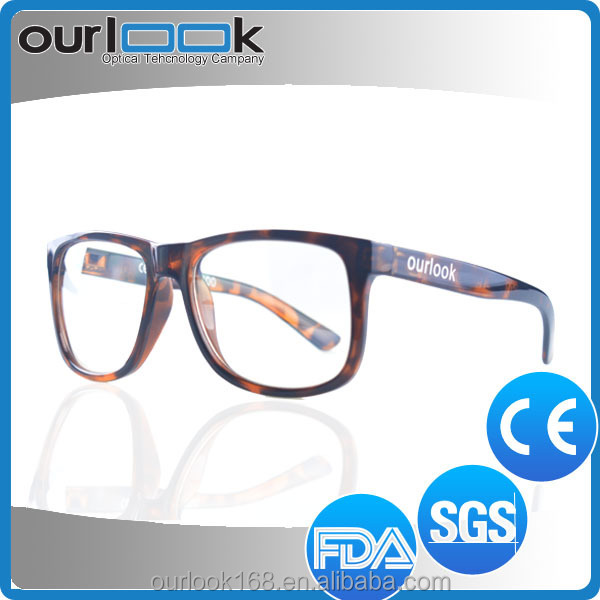 2016 Lastest Popular Colorful Anti Blue Ray Italy Design Rimless Glasses