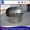 warehouse roof fan wind driven Stainless Steel no-power industrial ventilation