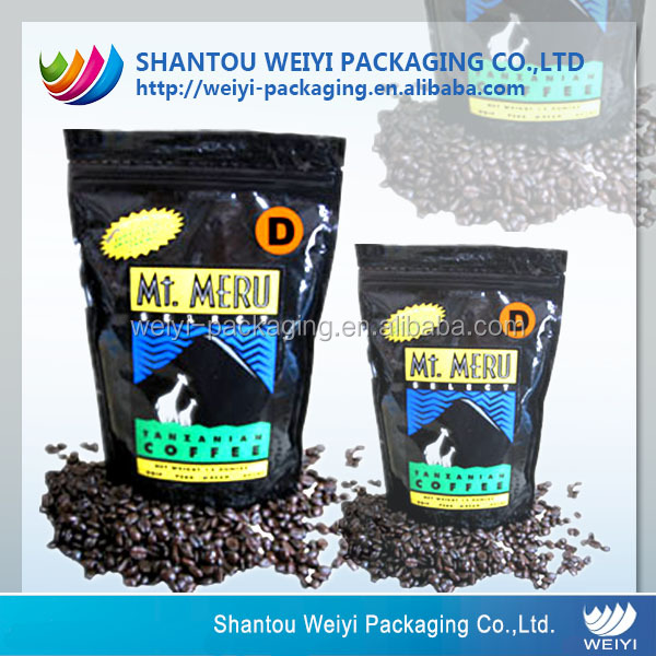 Alkaline coffee packaging/coffee beans packaging bag
