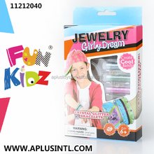 Kids craft DIY Girly Dream Crystal Bracelets Kits