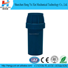 Shenzhen manufacturer making round blue pvc plastic fitting