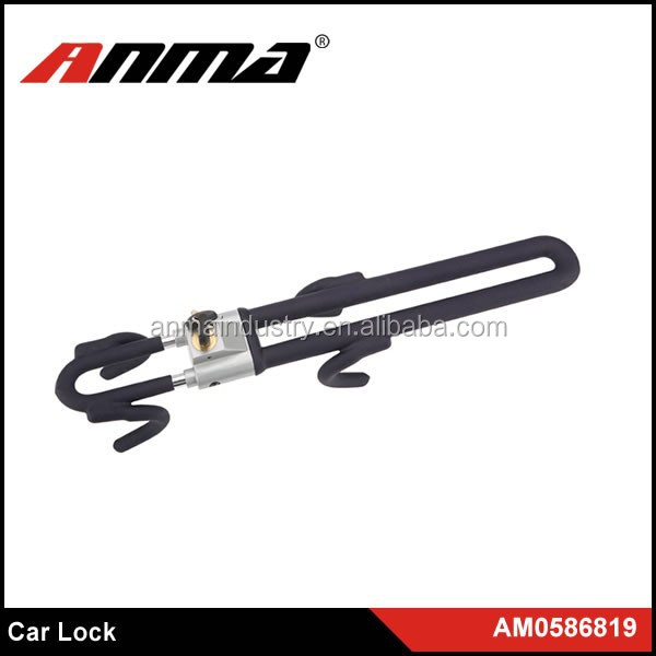 Heavy Duty Protection Double Claw anti-theft steering wheel lock