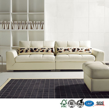 Tropical style color blending sala sectional sofa