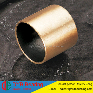 lock gear bearing steel backing sintered bronze ptfe SF-1 bushing Slide bush OEM ODM DU bushings