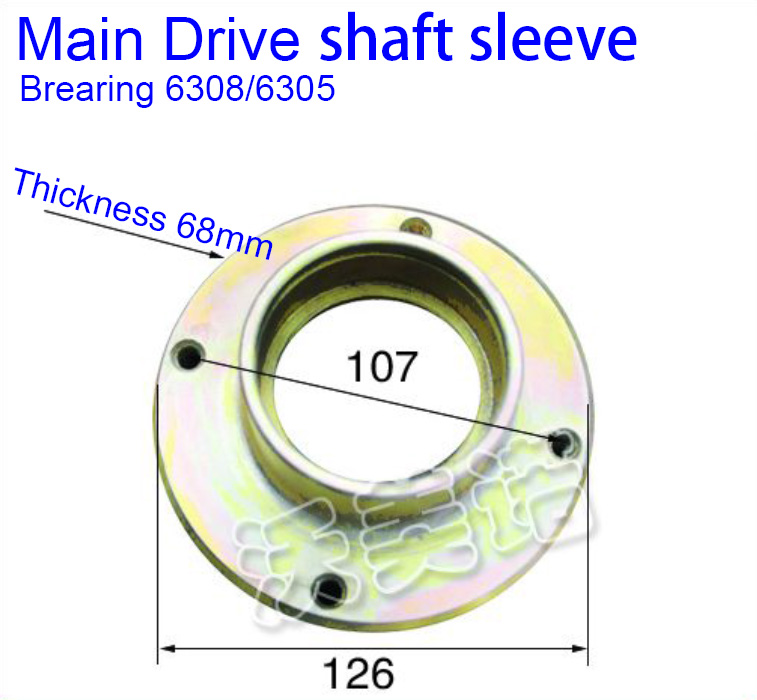 Hardware Accessory Drive shaft sleeve for revolving door automatic door