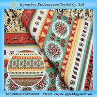 Bohemia style cotton fabric for womens clothing