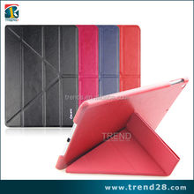 alibaba express protective folding leather flip case for ipad air