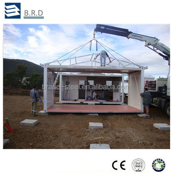 Sandwich Panel Steel Structure Folding Container House