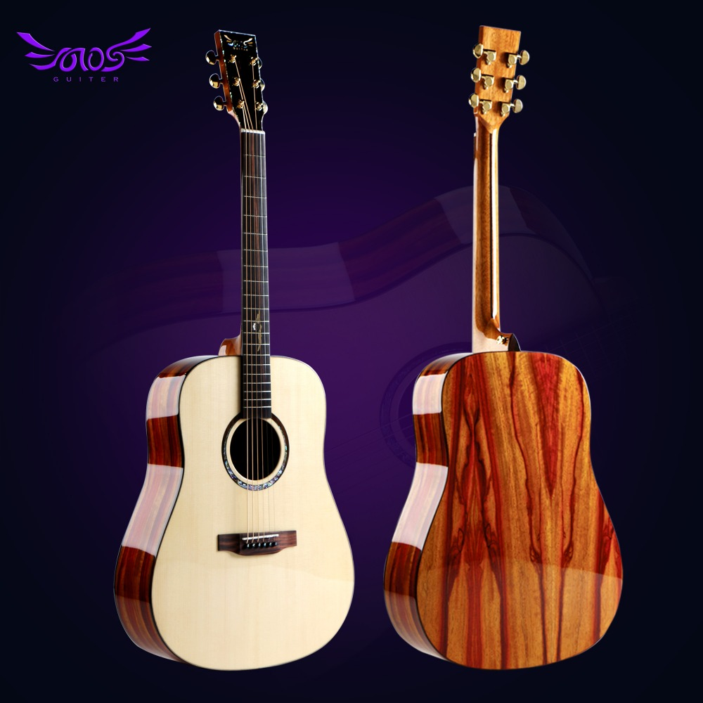 41 inch rosewood acoustic guitar with guitar accessories supplier