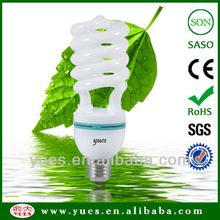 half spiral energy efficiency energy saving hangzhou lamp T4 E27 hot sale 26W