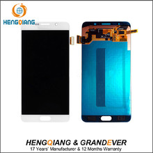 mobile spare parts shenzhen lcd touch screen digitizer lcd for samsung galaxy note 5