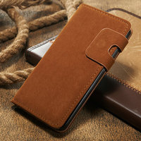 Mobile phone accesory pu case, For Samsung Galaxy S7 PU Flip Leather Case With card slots