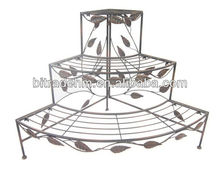 Metal Crafts Tree 3 Tier Corner Plant Holder