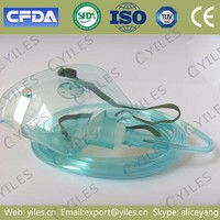 Single use portable oxygen mask prices sterilized EO gas