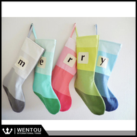 Wholesale Striped Christmas Stocking