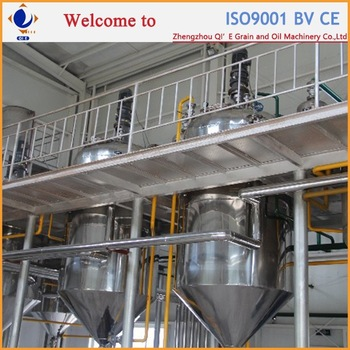 Factory use rice bran oil refined plant