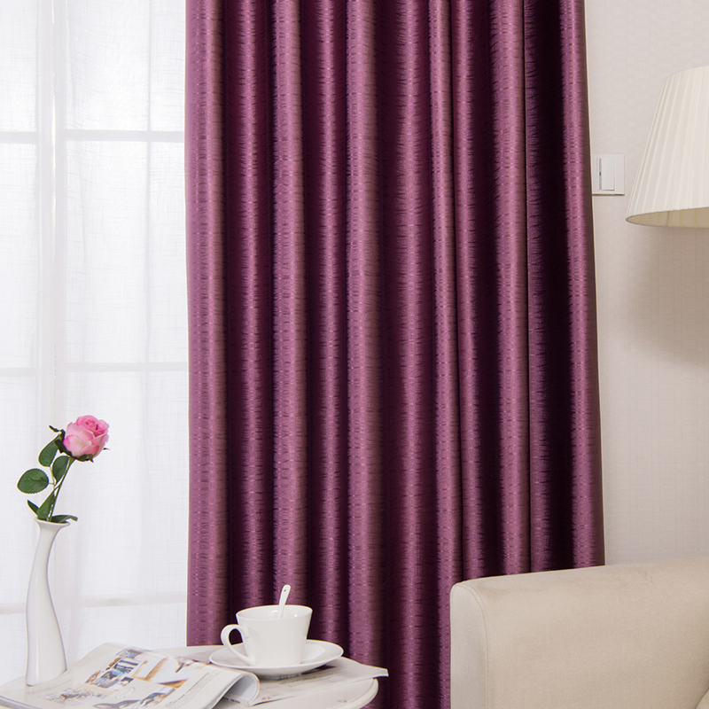 newest design 3D jacquard effect fabric Embossed curtain