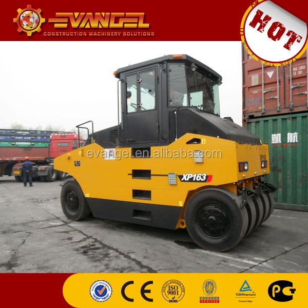 XCMG 16 ton tyre compactor XP163 for sale