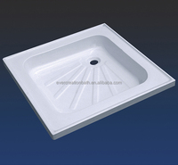 deep acrylic cheap shower base tray