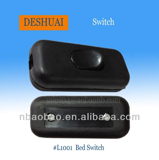 2A 250V Rewirable Cord Switch Bed Switch