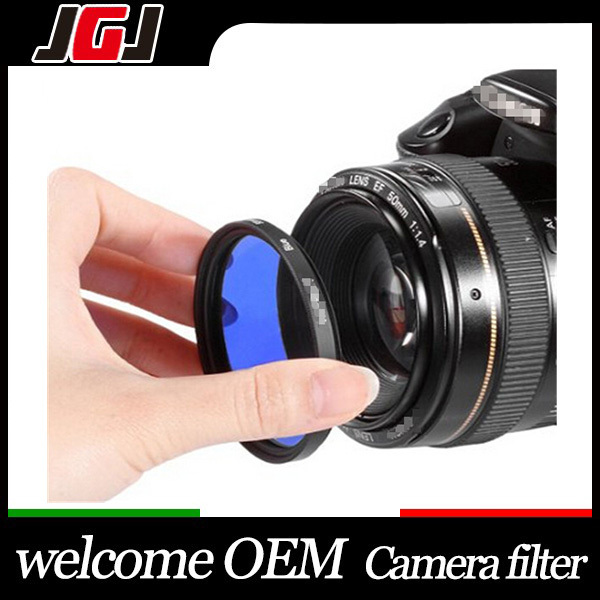 High Quality Factory Price OEm Lens Filter Camera Color Lens Filters
