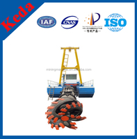 China cutter suction dredger sale/ China swamp excavator