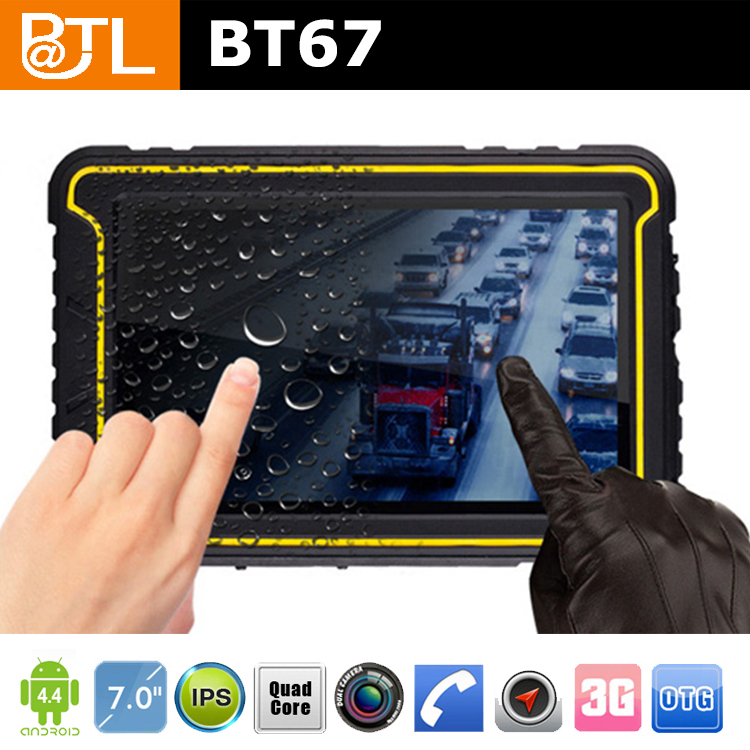 BATL BT67 450nits waterproof tablet laptop 1GB+16GB EMCP, Vehicle Mounted Computers tablet